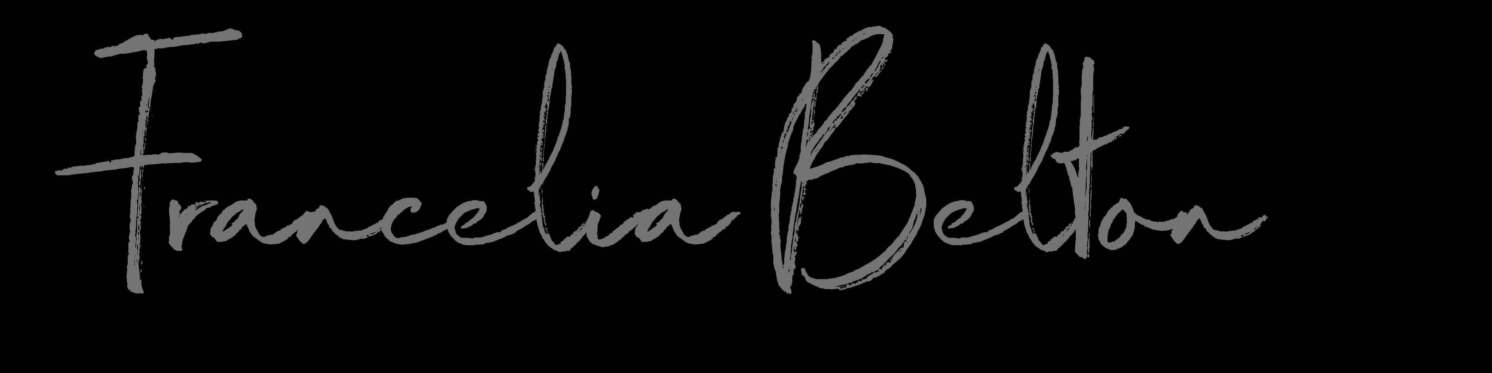 Francelia Belton - Story Writer - Author Logo